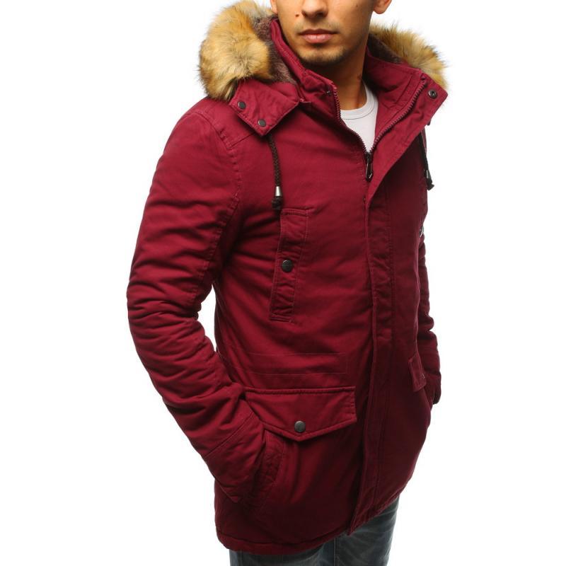 708040e5b9 Férfi téli kabát télikabát piros | manCLOTHES.hu