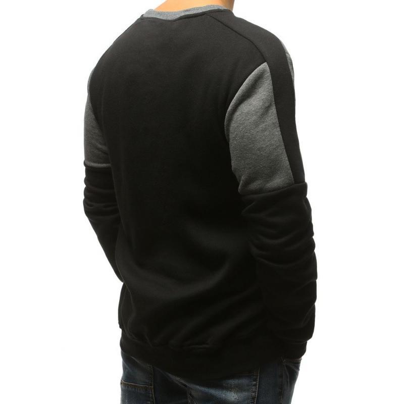 NewStyle Férfi pulóver és fekete Szary