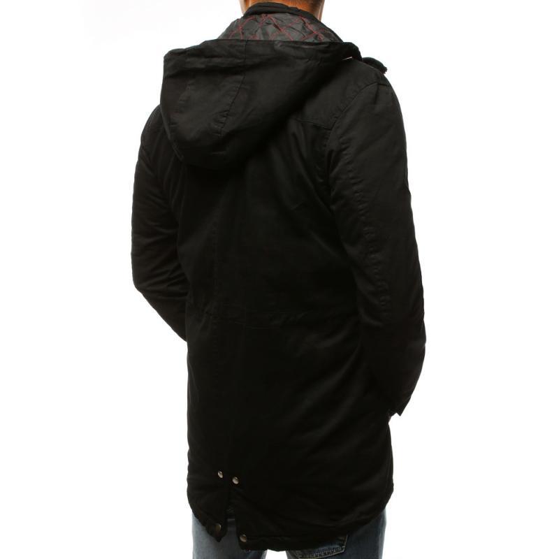 Férfi stílusú fekete télikabát kabát átmeneti  3c3d1efa6d