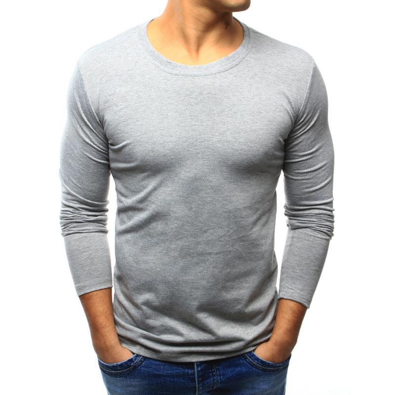 50229e67d9 Férfi szürke póló, hosszú ujjú | manCLOTHES.hu