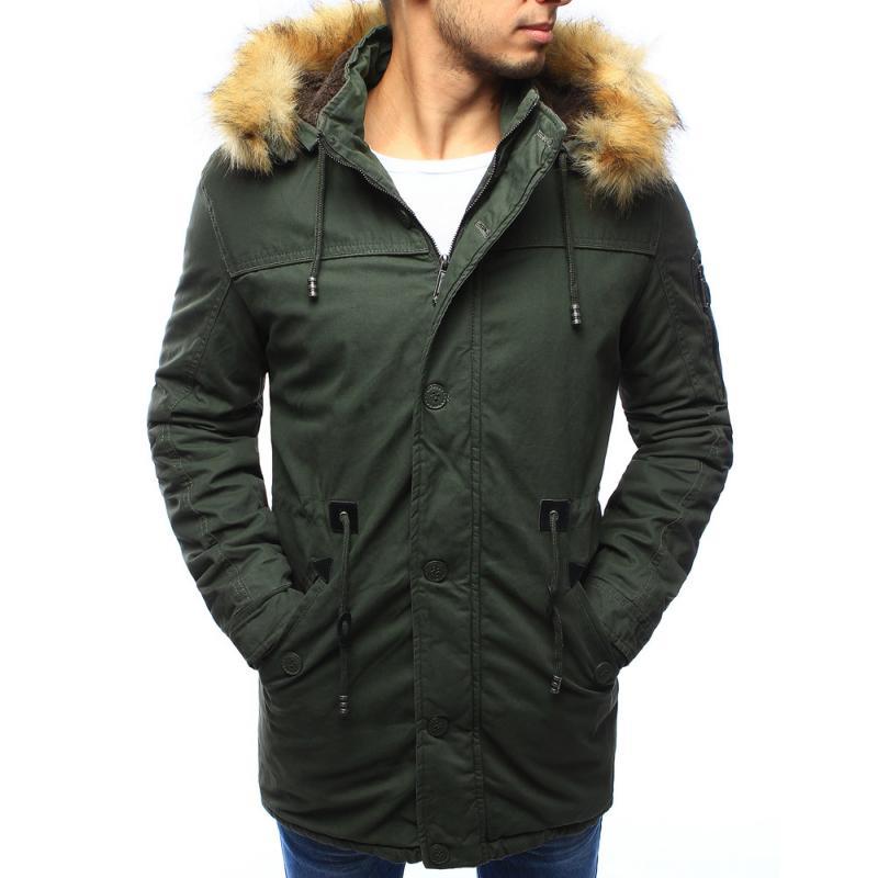 a67cad80af Férfi téli kabát télikabát zöld | manCLOTHES.hu