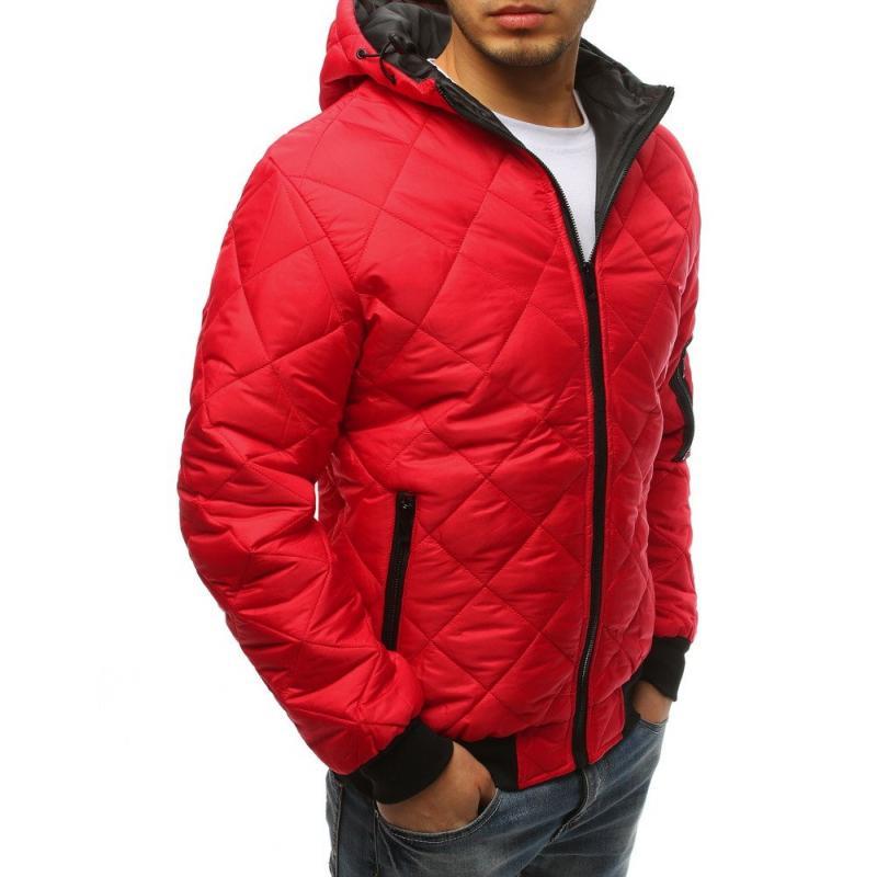 e46d672052 Men NewStyle átmeneti steppelt kabát piros   manCLOTHES.hu