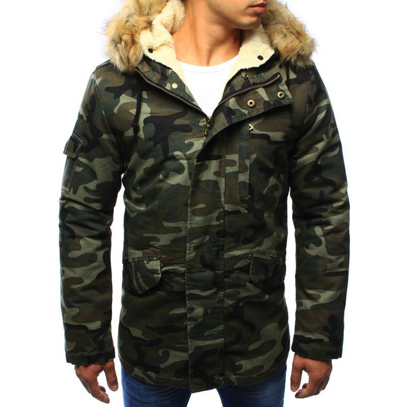 948185b4e9 Férfi télikabát kabát erdei terep - terepszínű   manCLOTHES.hu