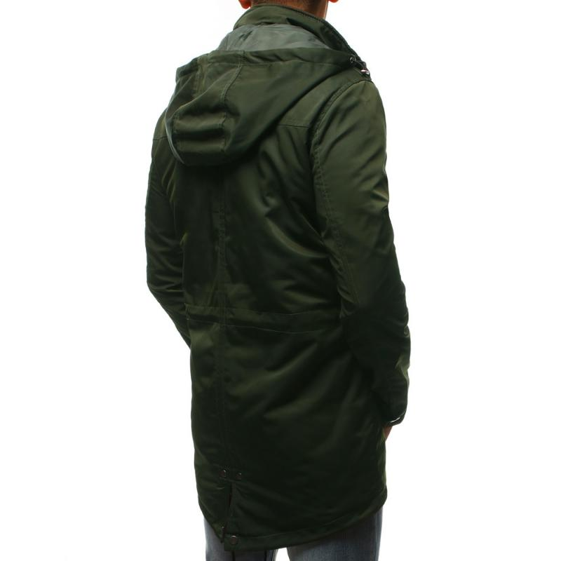 STYLE férfi dzseki télikabát zöld átmenet  87ca8c6790