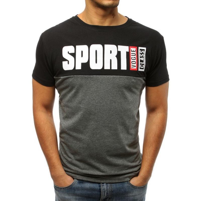 3ad5fe500b Stílusú férfi póló, fekete nyomat | manCLOTHES.hu