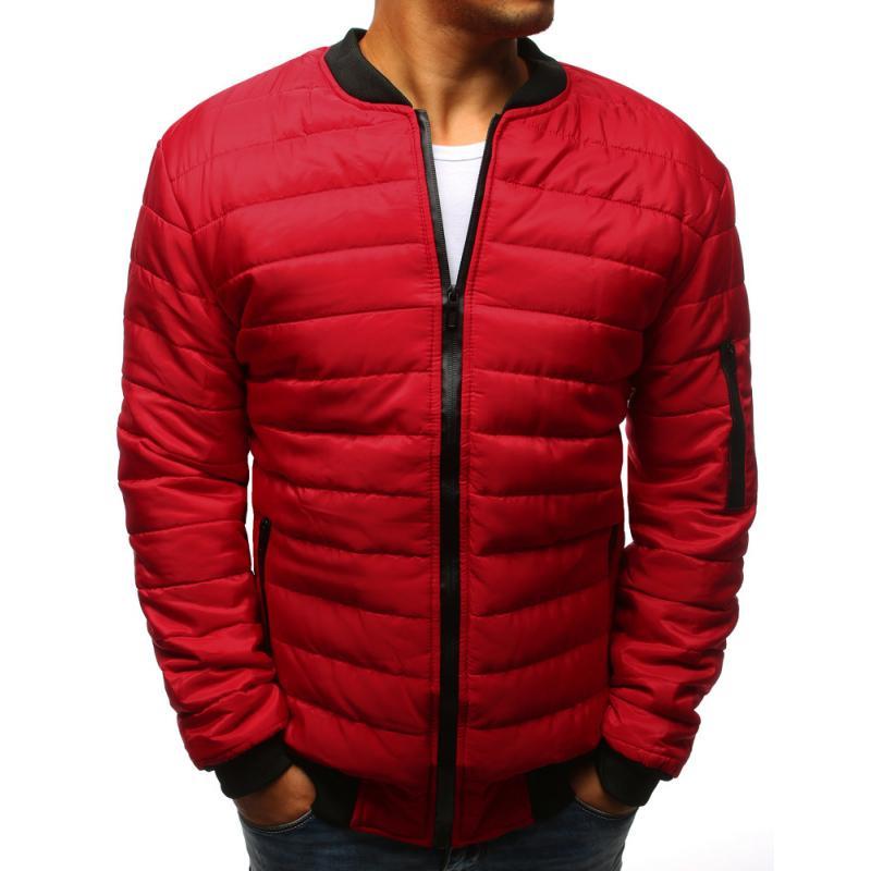 b5ae3c5a00 Férfi Style steppelt kabát bomber dzseki piros | manCLOTHES.hu