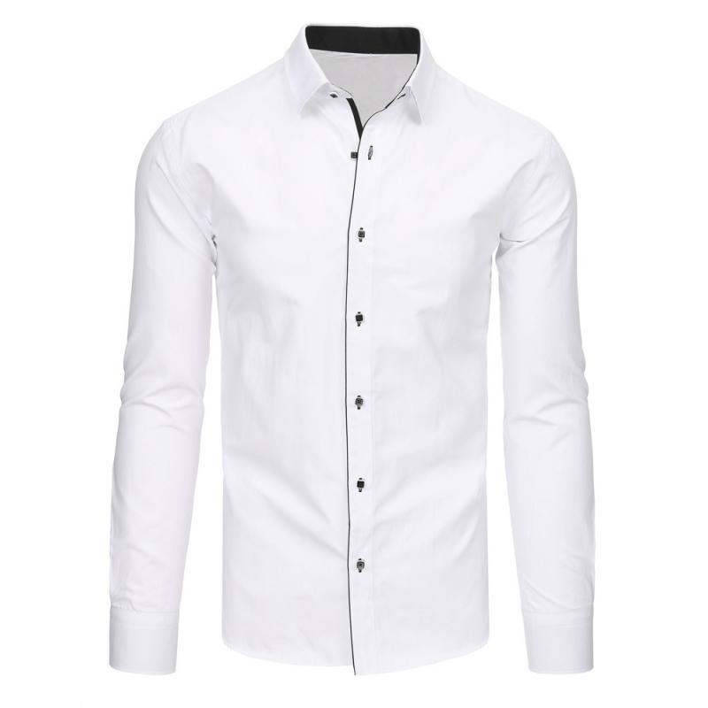 9791f69404 Elegáns fehér férfi ing, hosszú ujjú | manCLOTHES.hu