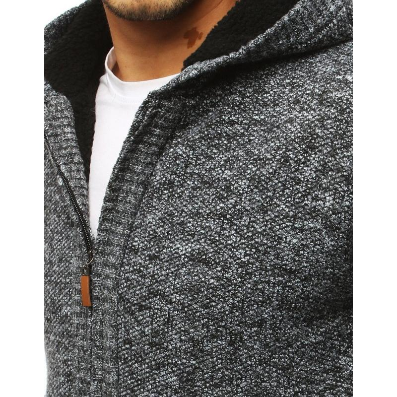 Meleg férfi pulóver fekete | manCLOTHES.hu