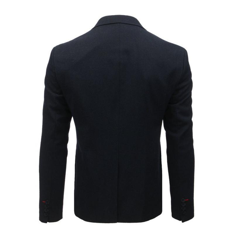Elegáns férfi kabát medál  46539a7286