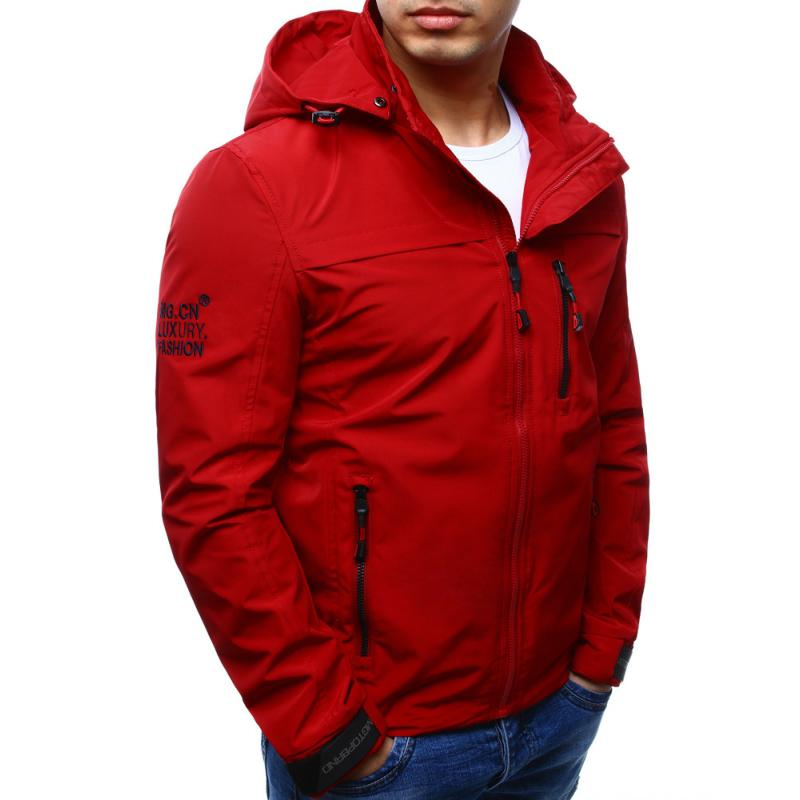 Férfi átmeneti kabát kapucnival 873ae10dcc