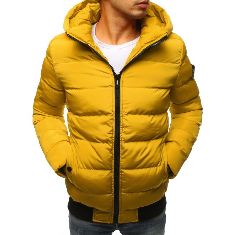 b8b58986c1 Férfi téli kabát sárga | manCLOTHES.hu