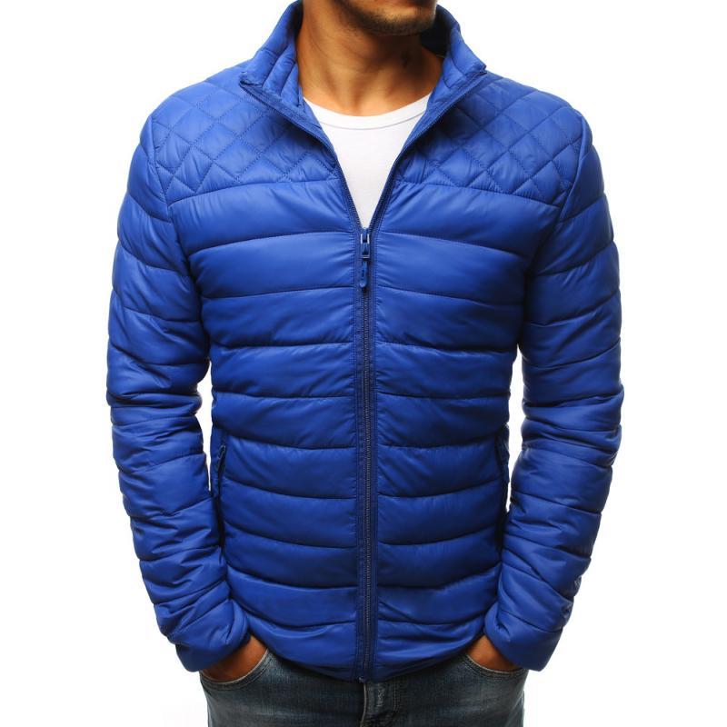 75990b21a6 Férfi kék steppelt kabát STYLE | manCLOTHES.hu