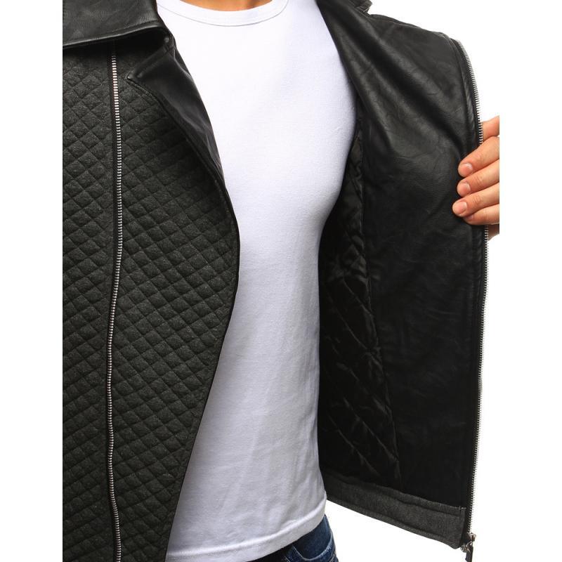 Férfi elegáns kabát antracit  d0185e9d37