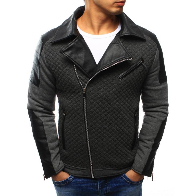Férfi elegáns kabát antracit | manCLOTHES.hu