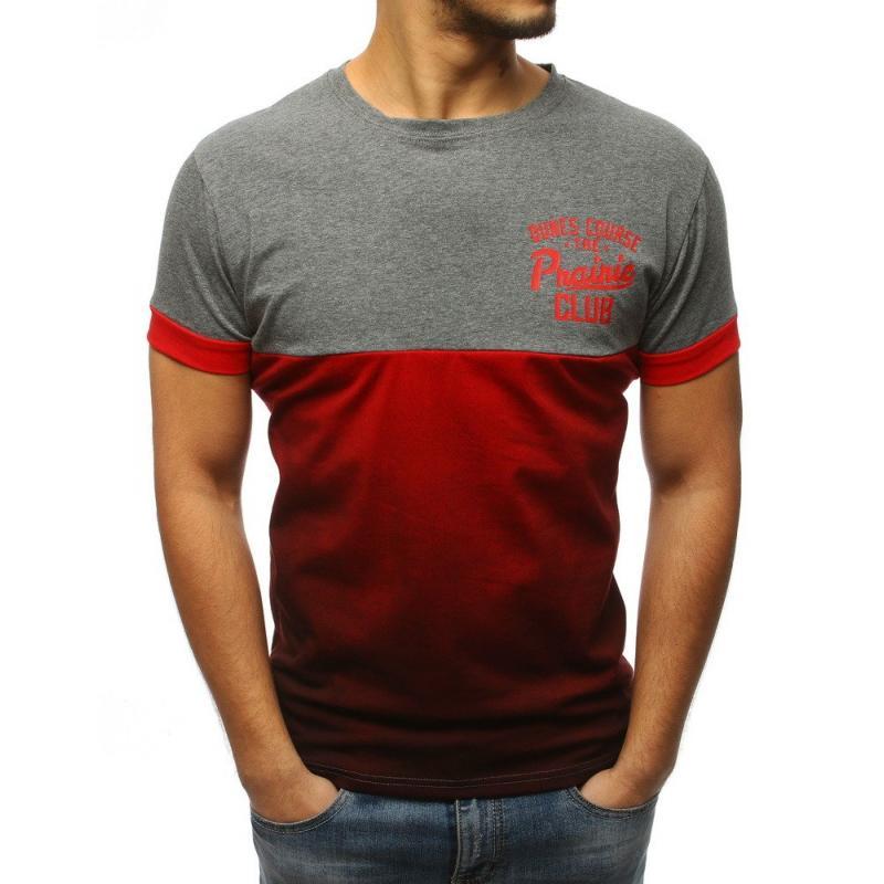 06f4ef63a6 Férfi póló nyomott választható szürke színű | manCLOTHES.hu
