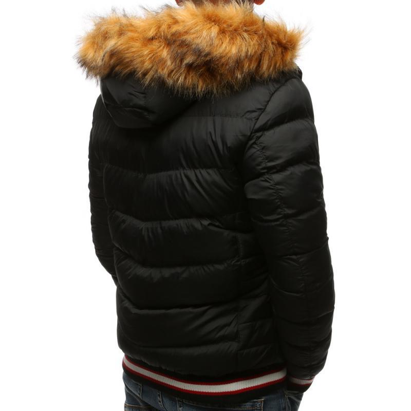 29ad11733b Férfi topplott téli kabát fekete | manCLOTHES.hu