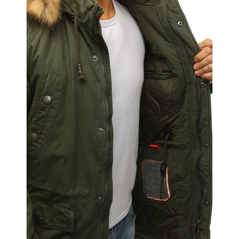 394891884a Férfi téli kabát télikabát zöld | manCLOTHES.hu