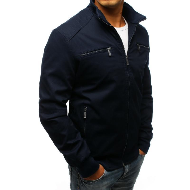 6a39932c36 Férfi STYLE átmeneti kabát sötétkék | manCLOTHES.hu