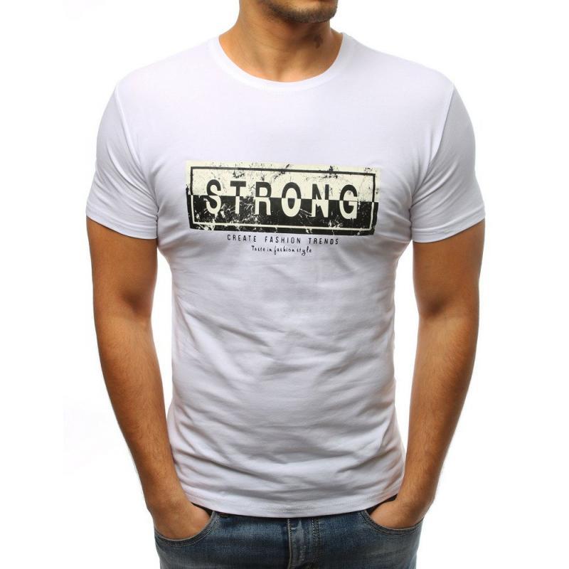4fad33b0df EREDETI Férfi póló fehér nyomtatás | manCLOTHES.hu