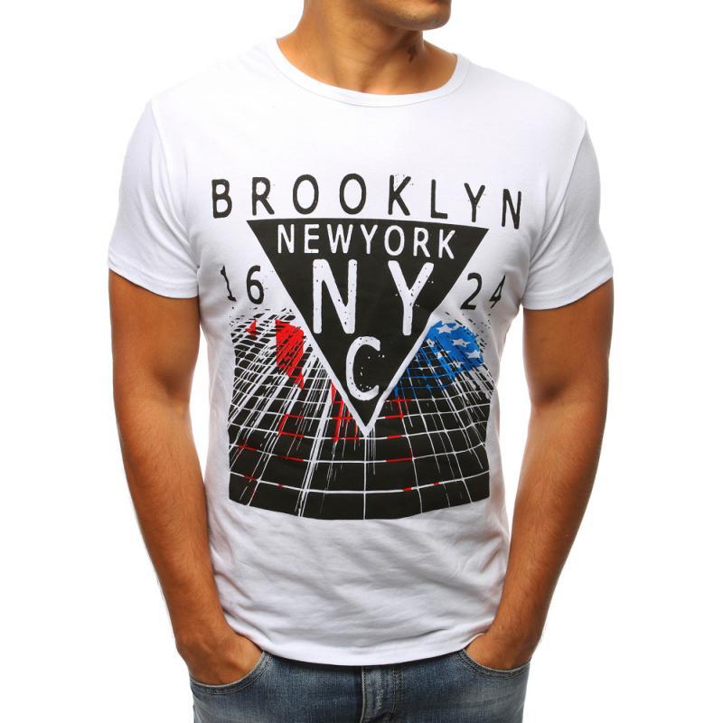 2d7632540d Férfi fehér póló nyomtatás | manCLOTHES.hu