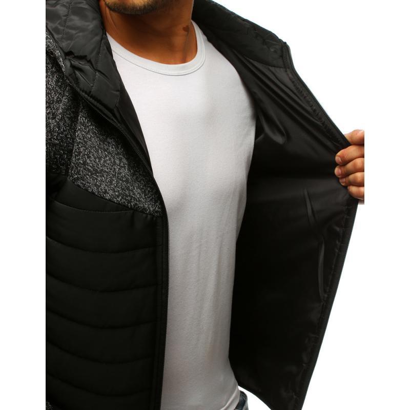 Férfi STYLE átmeneti kabát kapucnival 4b9579049a