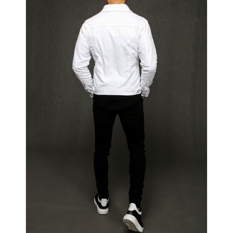 Férfi kabát, fehér TX3245 | manCLOTHES.hu