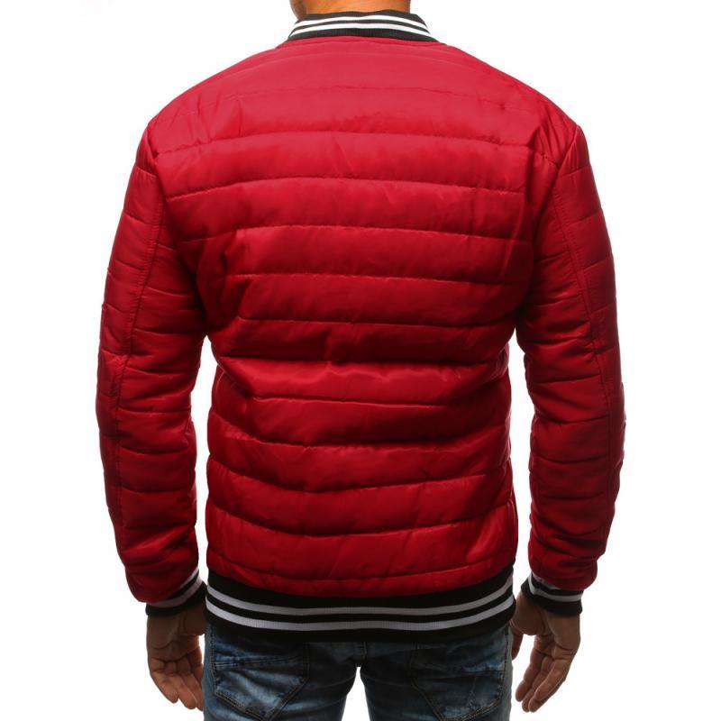 61a7b453f9 Férfi Style steppelt kabát bomber dzseki piros | manCLOTHES.hu