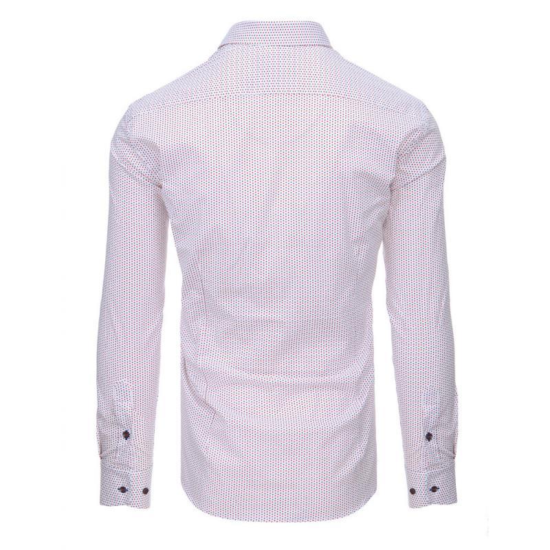 2db38014c7 Fehér férfi ing, hosszú ujjú mintás | manCLOTHES.hu