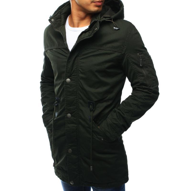 1249cd0ec1 Férfi téli kabát - zöld télikabát | manCLOTHES.hu