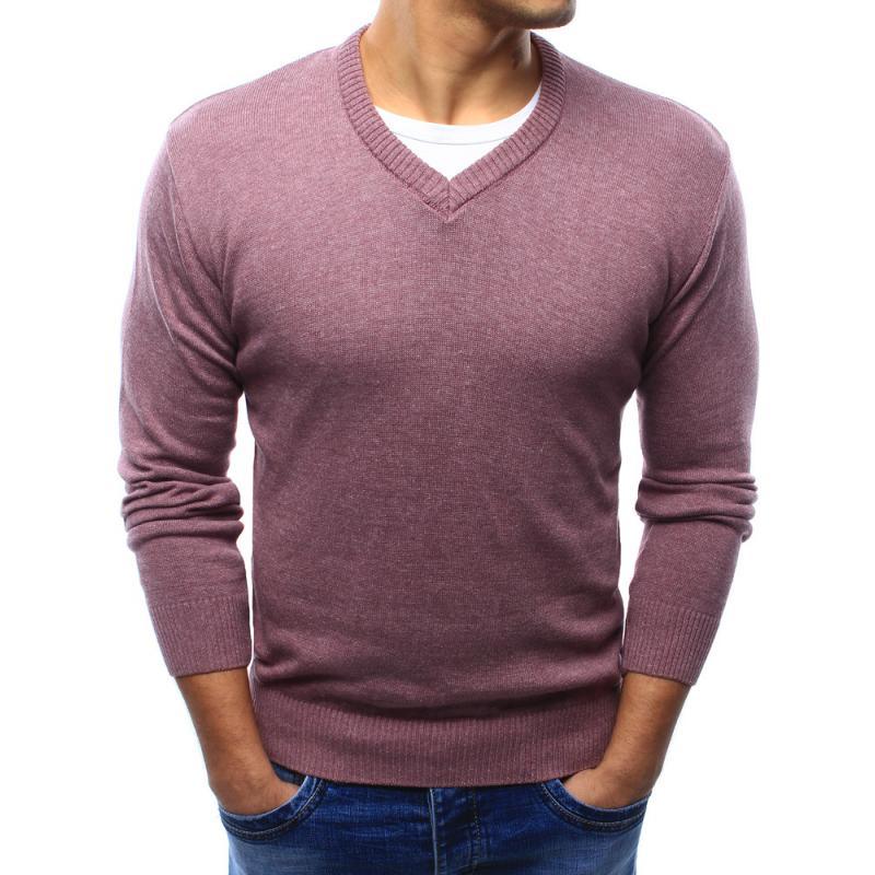 Men rózsaszín pulóver  07704b6c26