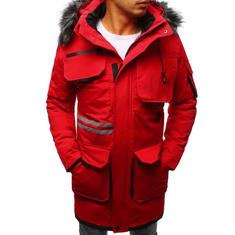 28b5183660 Férfi téli kabát zakó vörös | manCLOTHES.hu