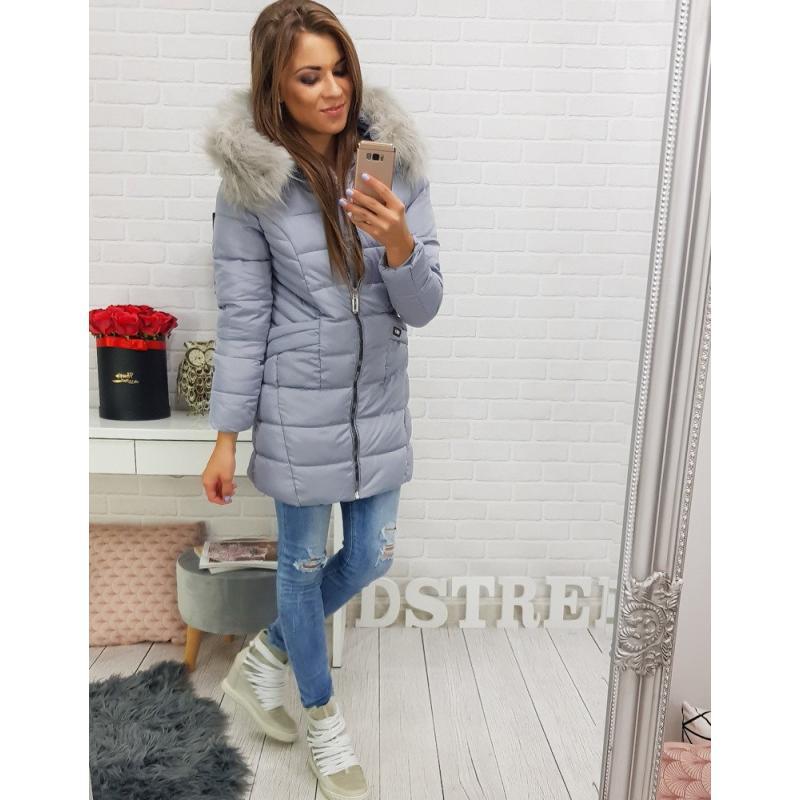 FOREST kabát női téli steppelt kapucnis fekete | manCLOTHES.hu